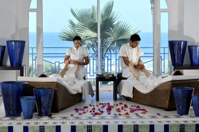 The spa at Coco Ocean