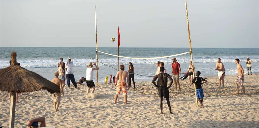 Daytime activities at Kombo Beach Hotel