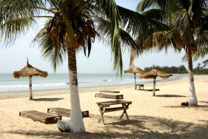 Beach in South Gambia
