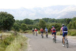 Cycling in Corsica