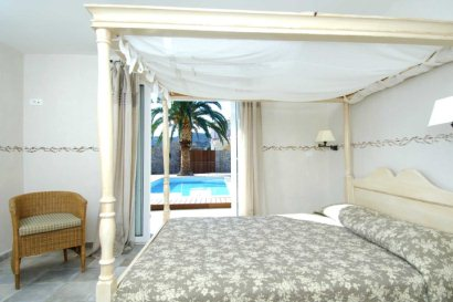 Bedroom in Studio by Pool Area