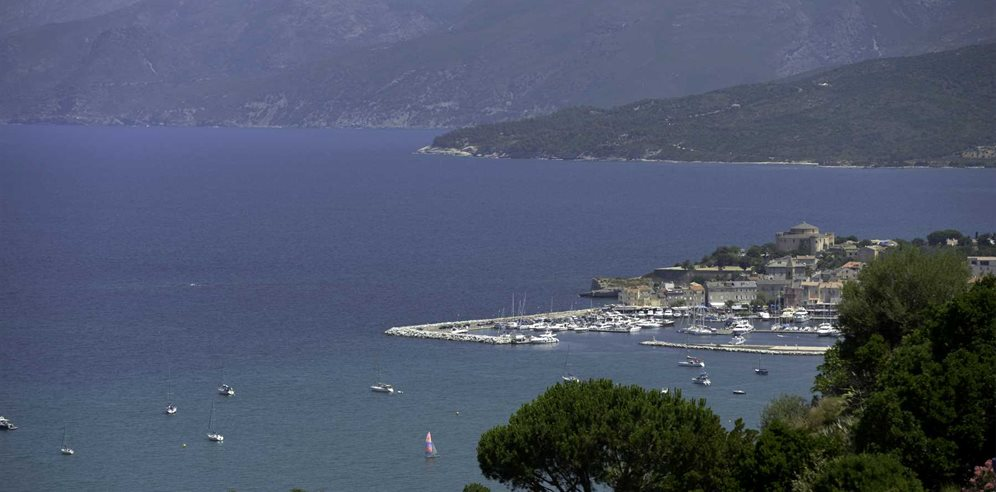 Views of St Florent Bay