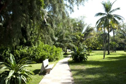 Gardens at the Senegambia Hotel