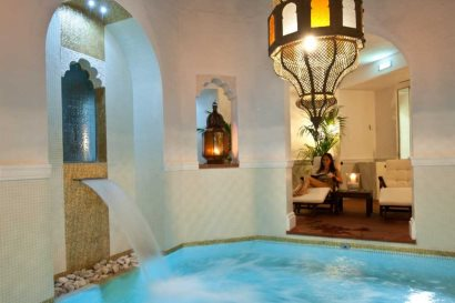 Heated Jacuzzi Pool in the Spa