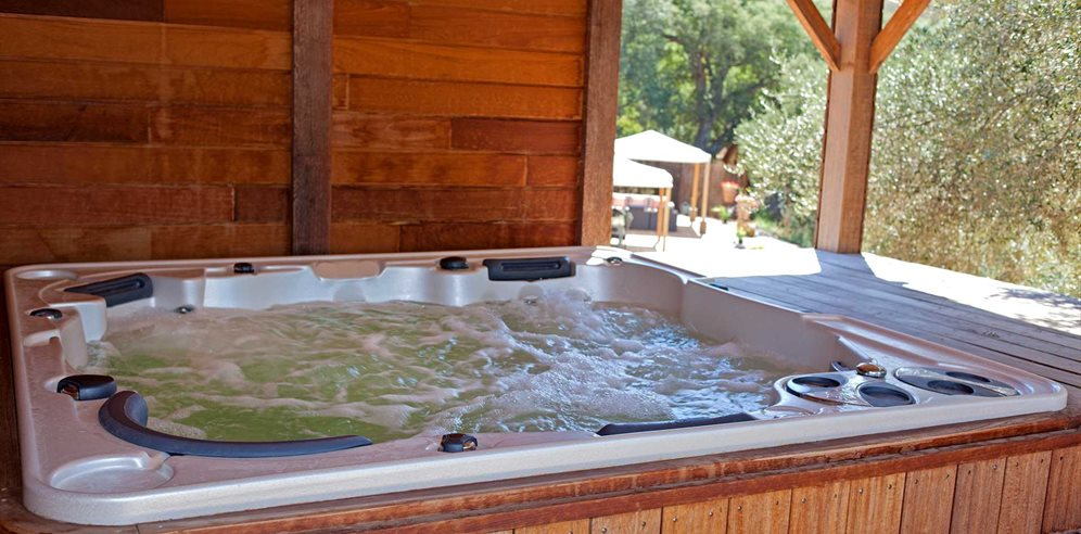 Jacuzzi (shared with the owners)