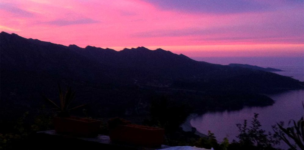 Stunning skies above la Rocca