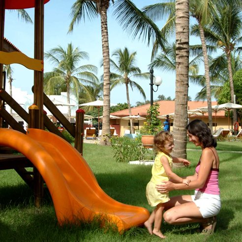 Children's play area at Ocean Bay Hotel