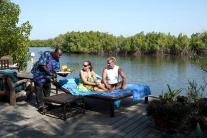 Relaxation and personal service at Mandina Lodges