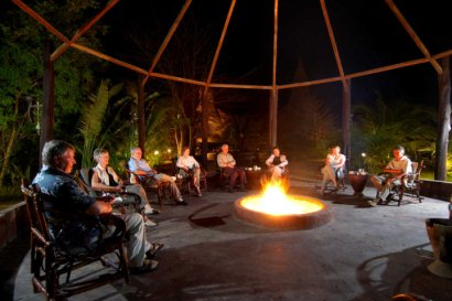 A magical atmosphere at Mandina Lodges