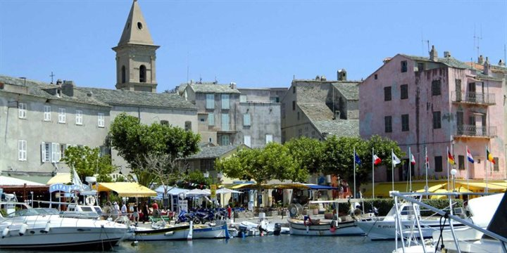 St Florent harbour