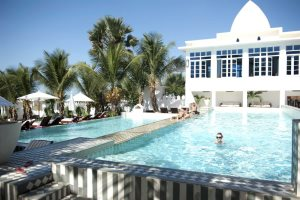 Coco Ocean tiered swimming pool