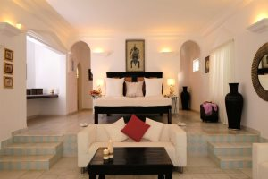 A deluxe suite at Coco Ocean Resort & Spa, Bijilo, The Gambia