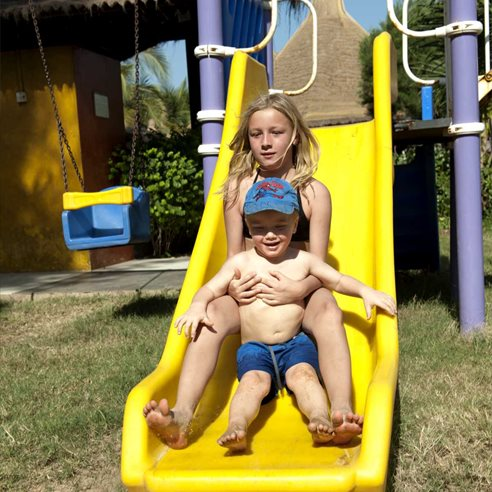 Childrens' playground, Kombo Beach Hotel