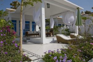 A club villa terrace, Coco Ocean Resort & Spa
