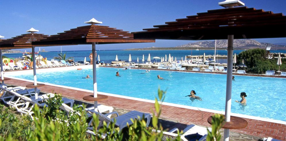 Pool Area - Club Hotel Ancora