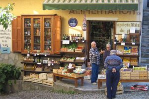 Local shop in Corte