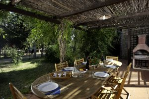 Terrace and Barbecue, Casetta Fiordaliso - Villas Santa Caterina
