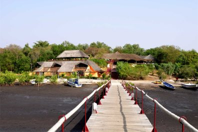 Jetty at Keur Saloum, Sine Saloum Delta, Senegal