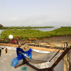 Relax and admire the views at Keur Saloum, Sine Saloum Delta, Senegal