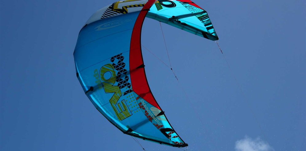 Kite Surfing on Sal