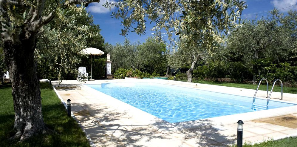 Pool Area - Casa Cherchi