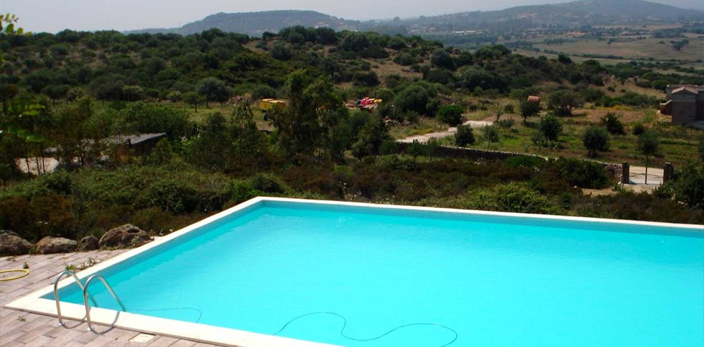 Pool Area and Views - Casa Le Primule