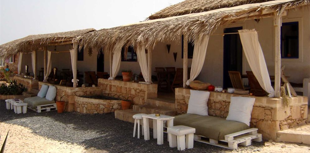 Ca'Cabra restaurant and bar, Spinguera, Boa Vista, Cape Verde