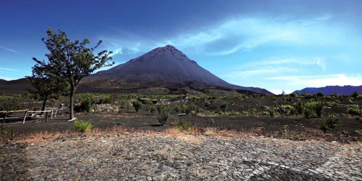 Volcano on the island of Fogo - © Westend61 GmbH / Alamy Stock Photo