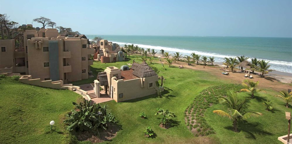 Beachfront location at Gambia Coral Beach Hotel & Spa, Brufut, The Gambia