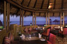 Balafon restaurant at Gambia Coral Beach Hotel & Spa, Brufut, The Gambia