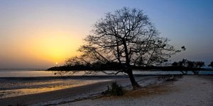 Beach at sunset, Sitanunku Lodge