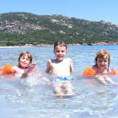 Kids in Southern Corsica