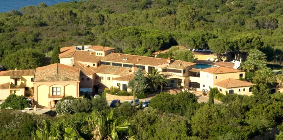 Aerial View - Hotel Le Ginestre