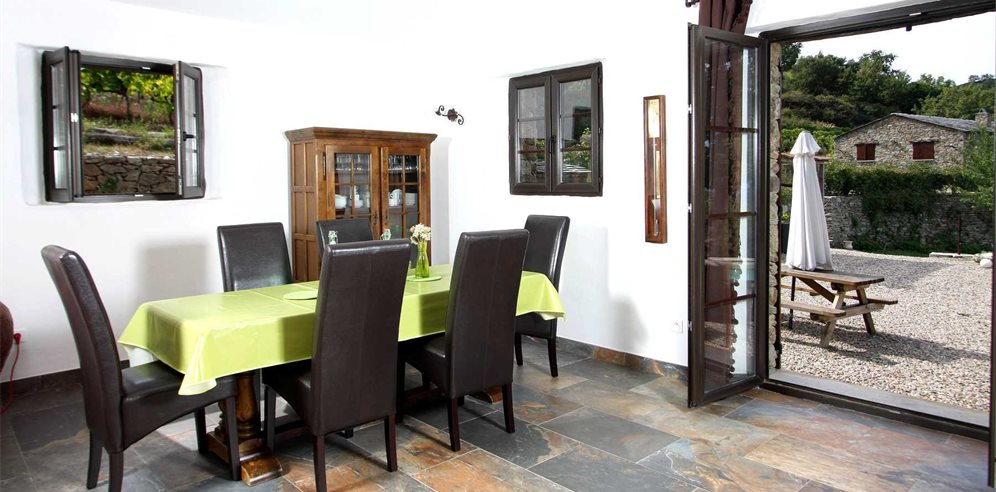 Dining Area/Outside Terrace