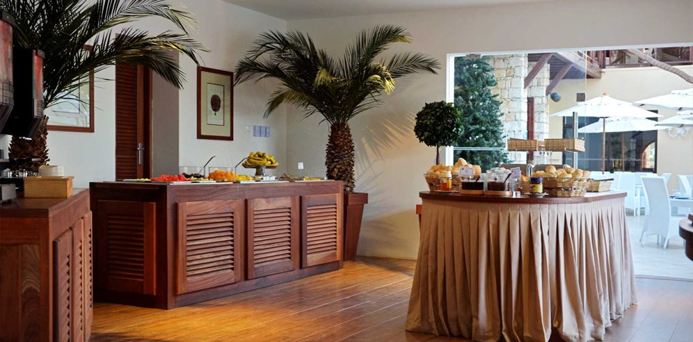Breakfast Buffet at Hotel Morabeza, Santa Maria, Sal