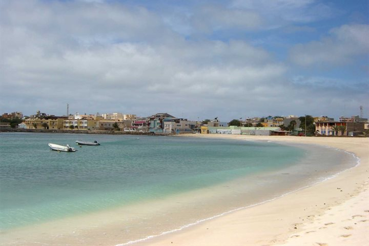 Beach resort, Boa Vista, Cape verde