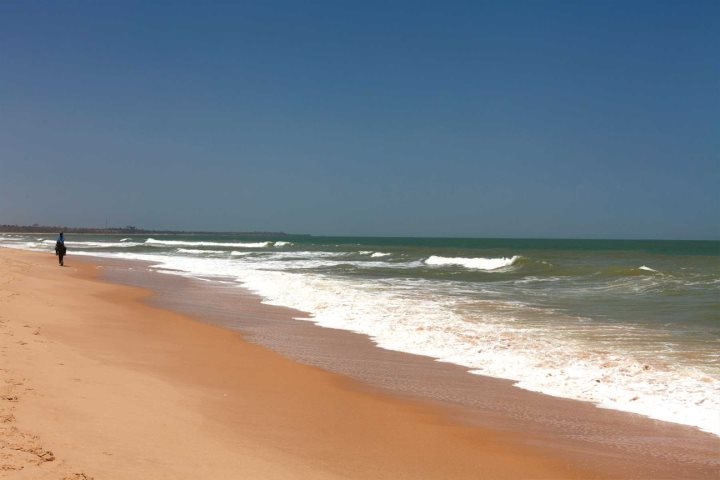 One of Gambia beautiful beaches