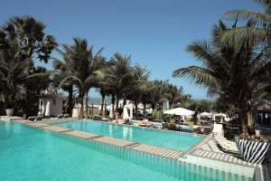 Tiered pool at Coco Ocean Resort & Spa, Bijilo, The Gambia