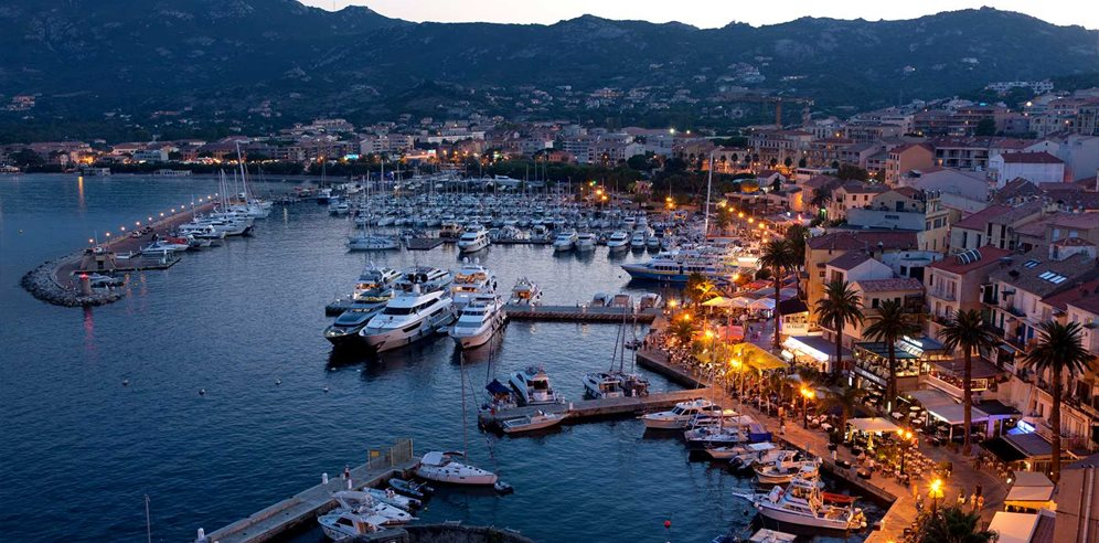 Evening in Calvi