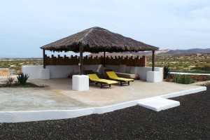 Private Terrace for villas