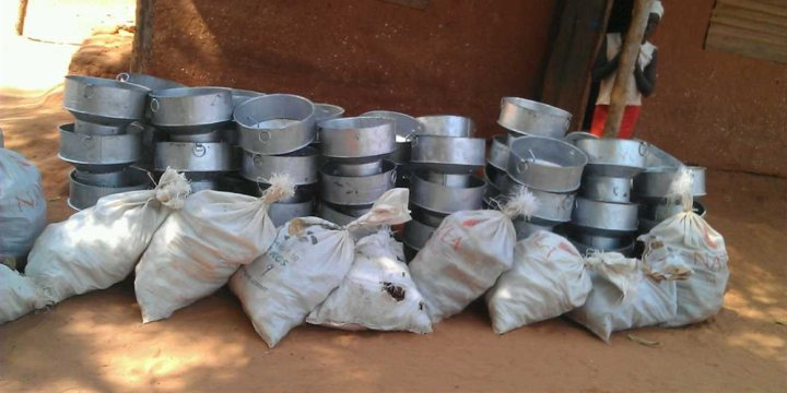 Community Stove Initiative - Stove delivery
