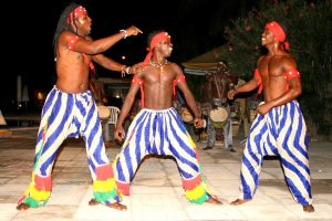 Evening entertainment at Kombo Beach Hotel