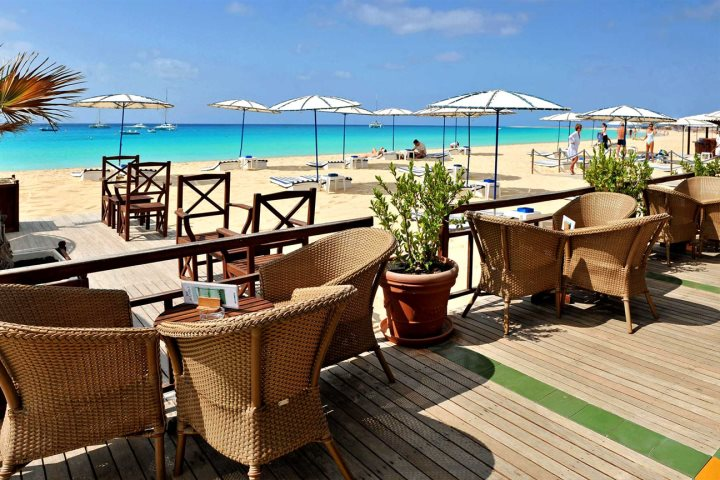 Beach hotels in Cape Verde