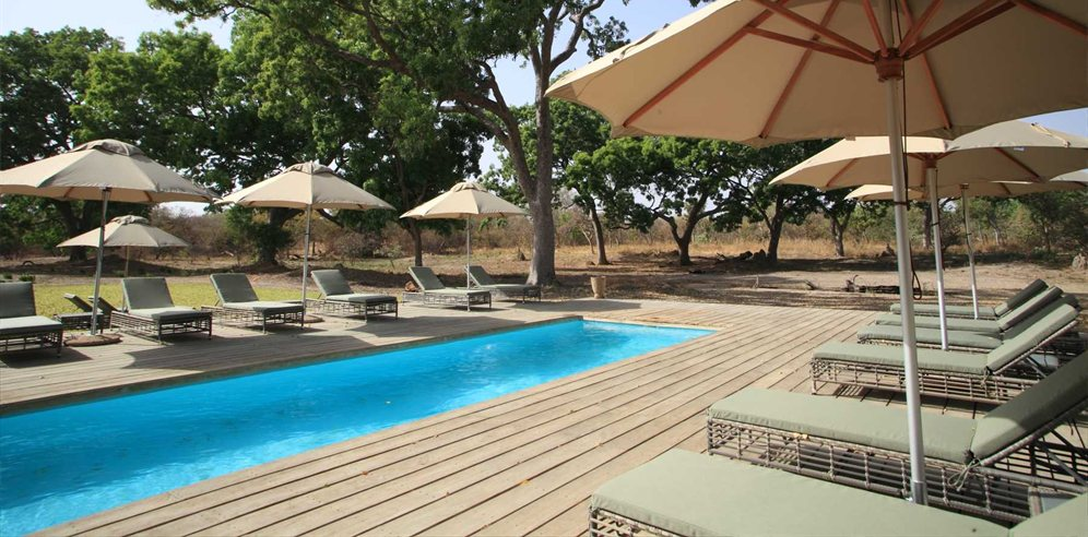 Fathala Wildlife Reserve Pool