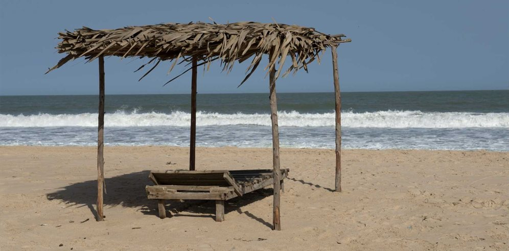 Beach at Leo's Beach Hotel, Brufut, The Gambia