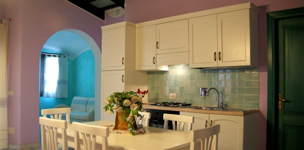 Kitchen and Dining Area  - Residenza Riva Azzurra