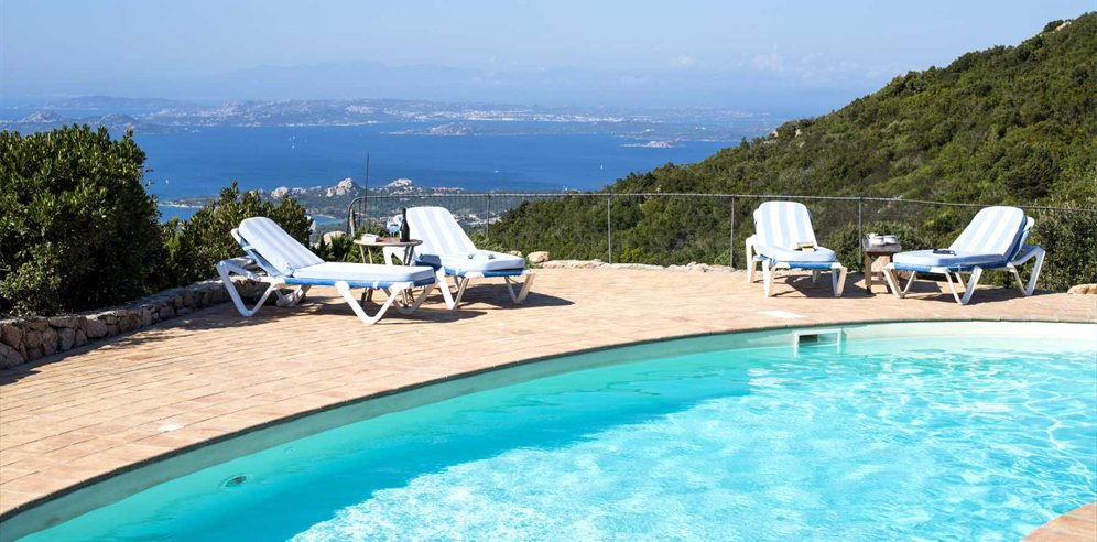 Pool and Views - Villa Montemoro