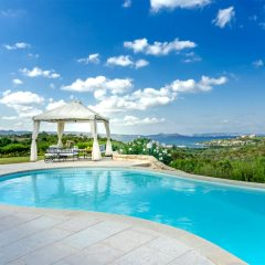 Pool Area and Views - Villa Girolia
