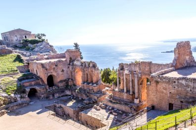 The Greek Theatre,Taormina - K. Roy Zerloch  |  Shutterstock