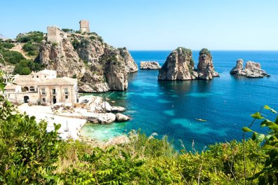 Faraglioni and Tonnara, Scopello - Gandolfo Cannatella   |  Shutterstock